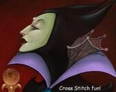 Disney's Villains - Accursed Gift - Cross Stitch Pattern