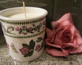 Portmerion Spice Jar Candle with Wooden Lid