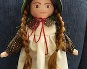 Laura Ingalls Cloth Doll