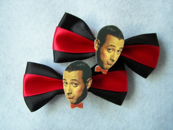 Pee Wee Herman Hair Clips