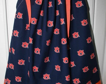Featuring Auburn Tigers Boutique Pillowcase dress Size 3T only:TD044