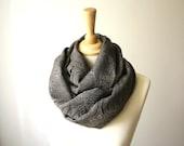 Elegant  Shawl, Infinity  Scarf  textured loop scarf cowl versatile no wrinkle