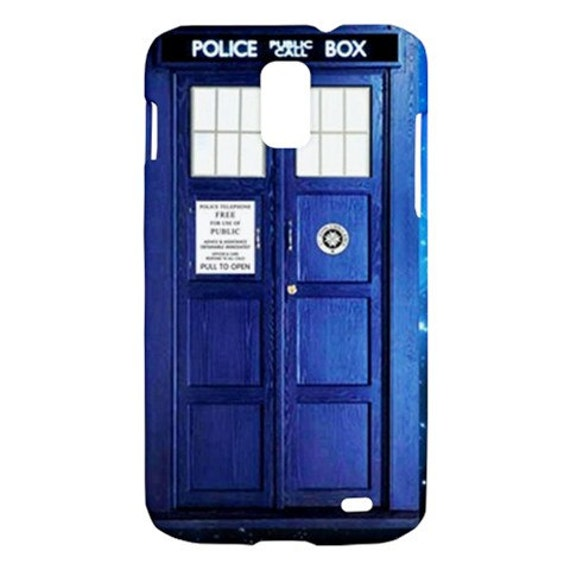 New Tardis Dr Who Samsung Galaxy S II Skyrocket Hardshell Case Cover Samsung Galaxy S2 Skyrocket Case Doctor Who