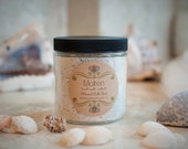 Made-to-Order Mineral Bath Salt Soak, over 30 scents - 16oz Glass Jar