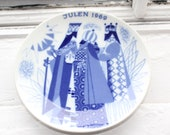"""Collectible 1969 Christmas Plate, """"The Three Wise Men"""""""