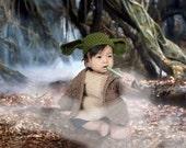 Yoda Outfit (Crochet)