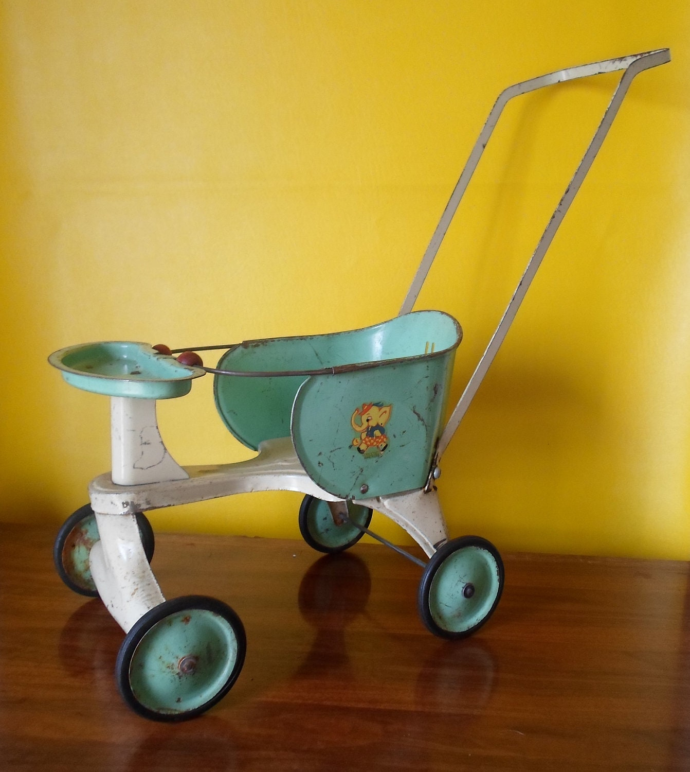 Antique Turner Toy Doll Stroller Made in USA Childs Toy