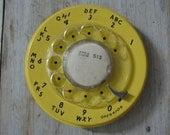 scrap telephone rotary plate