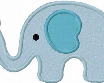 elephant applique etsy