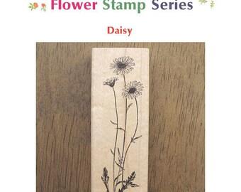 Lovely Rubber Flower Stamp - Daisy **