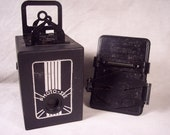Rare 1936 Photo See Plate Camera & Developing Tray, Boxes