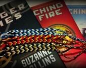 Hunger Games Inspired Friendship Bracelets Set of 3