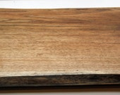 Reclaimed, Red Oak, Cheese/Cutting Board with Deer Burrs