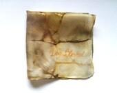 Silk Original batik handpainting handkerchief Dog Blessed,Ready to Ship