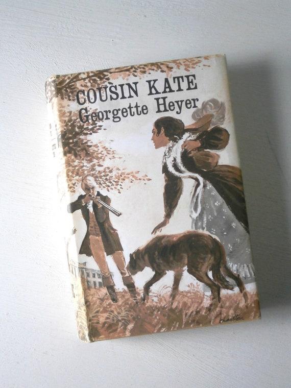 Vintage Georgette Heyer Cousin Kate book