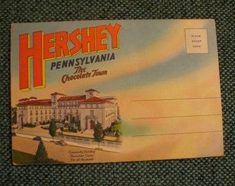 Hersey Pennsylvainia Postcard Folder