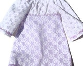 "Purple Bell Dress for 18"" Dolls"