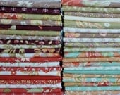 Moda Fabrics and Fig Tree Quilts Tapestry Collection One 40 Piece Fat Quarter Yard Bundle