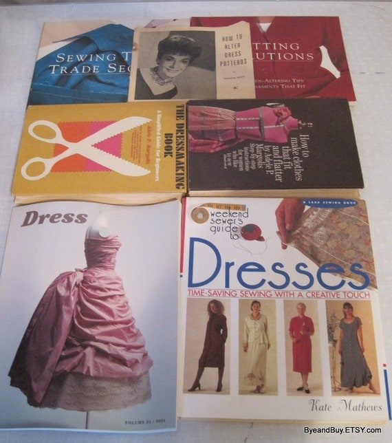 Craft How To Sewing, Dress, Costume Making Pattern Alter Vintage Books