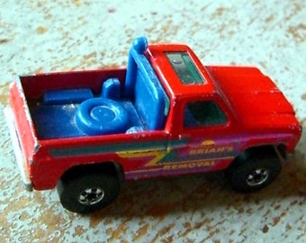 Vintage Toys, Hot Wheels, Red, Truck, Brian's Removal, Pick Up Truck, 1979