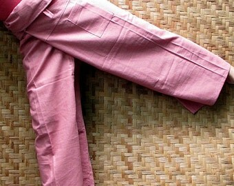 Cotton Thai Pants, Trousers  - Yoga pant