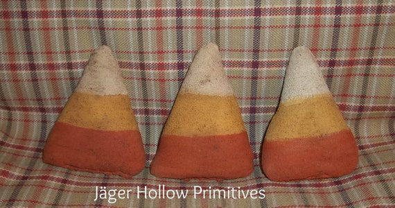 Primitive Grubby Candy Corn Tucks/ Ornies Bowl Fillers