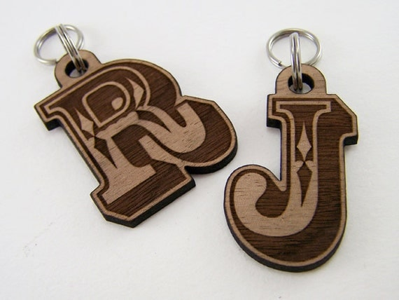 Pet ID Tag Personalized - Wood Dog Tag Cat Collar Tag Laser Cut