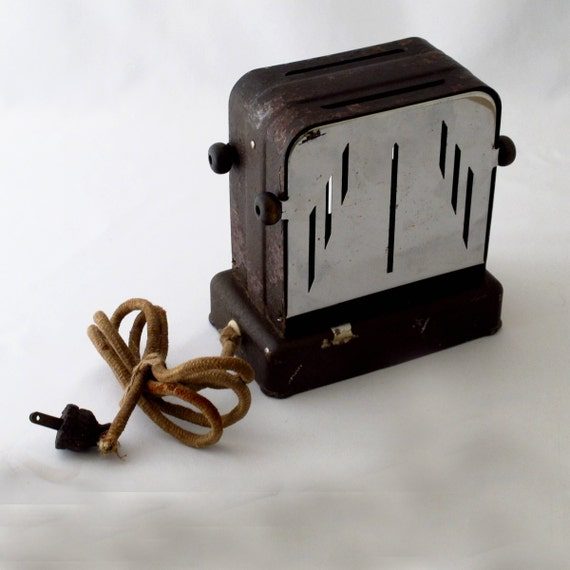 Electric Toasters From 1930 ~ Items similar to vintage s toaster kitchen decor