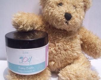 Baby Balm, 2 oz. Herbal Salve, Baby Bottom, Diaper Cream, Baby Shower Gift,