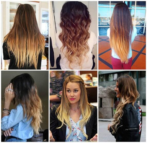 Как сделать амбре волос