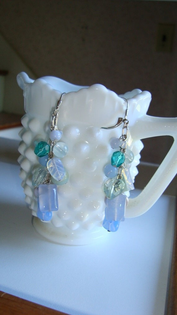 Colors of the Sea Dangle Earrings (ESS22) PRICE LOWERED!