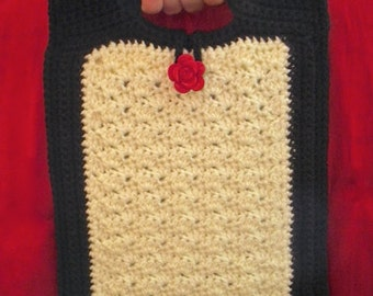 Crochet Sophisticated Shells IPad Cover/Bag - PATTERN ONLY