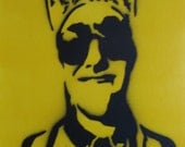"Mac Miller Graffiti Stencil Art 16""x20"""