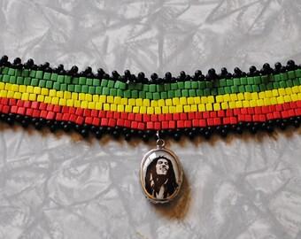 Bob Marley choker