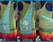 "1 (MADE TO ORDER) My Little Pony Rainbow Dash ""Saddlebag""  Purse"