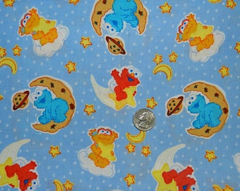 FQ Extremely Rare OOP Sesame Street Babies Space Cookies 2006 VHTF 18 inches x 22 inches