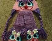 Abby Cadabby hat and scarf