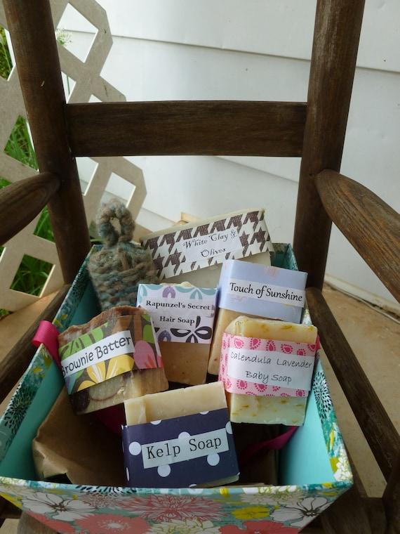 Basket o' Soap Gift Set