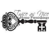 Logo Design Pre Made Watermark Small Business Vintage Key