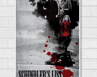 Schindler's List Movie Poster Print