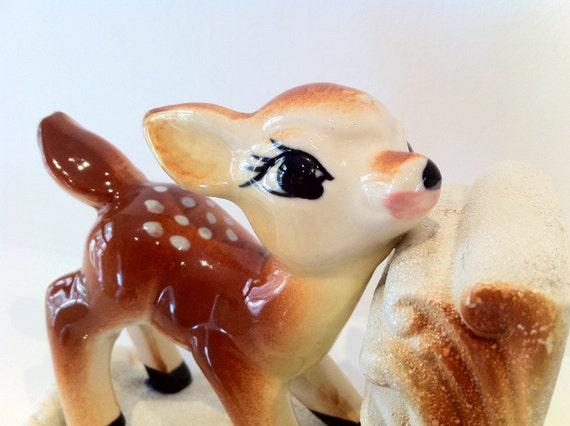 Vintage Deer Bookend - Bambi
