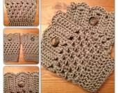 The Cute Crochet Boot Cuffs