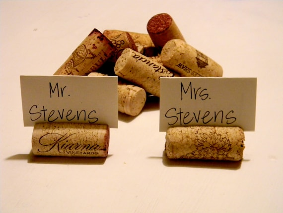 Custom Listing for Lana-Wine Cork Place Holders and Cards, set of 46