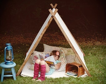 A-Frame REVERSIBLE Tents for Little Ones