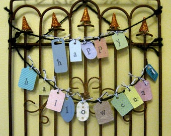 Happy Halloween Hanging Gate