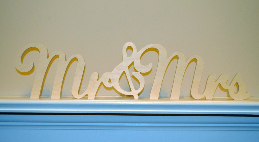 Weddings Signs Ampersand Sign And Wedding Mr And Mrs Stable