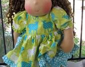 Waldorf inspired doll CUSTOM ORDER, Tara
