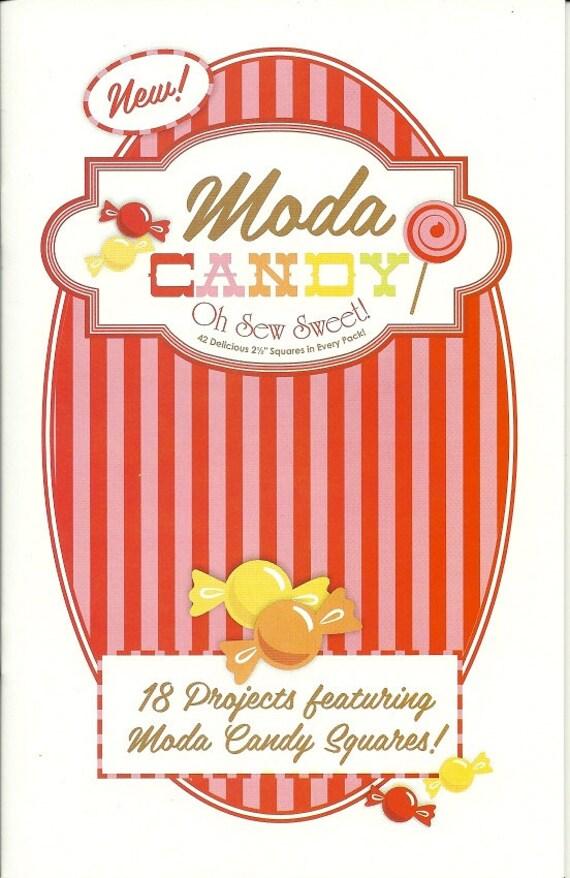 Moda Candy Pattern Book- Mini Charm Pack Friendly