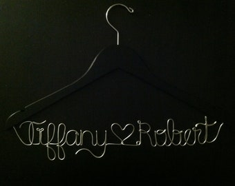WINTER 15% OFF -- Personalized Bridal Hanger Names