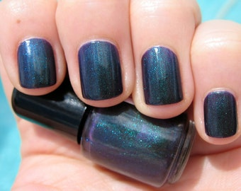 Unicorn Tears Violet Duochrome Color Shifting Indie Nail Lacquer Starlight Polish Liquid Euphoria